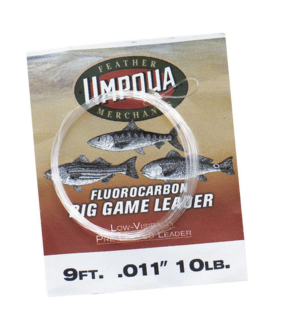 Umpqua Tapered Leaders, Fluorocarbon Big Game