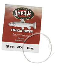 Umpqua Tapered Leaders, Power