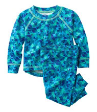 Infants Wicked Warm Midweight Underwear Set, Print