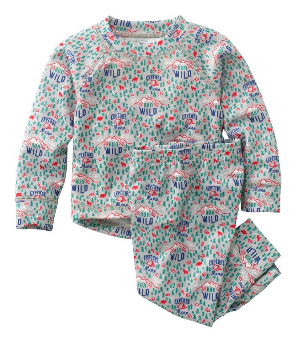 Toddlers' Wicked Warm Midweight Underwear Set, Print
