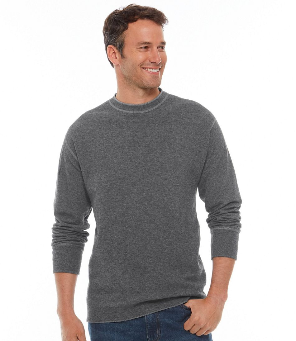 Two-Layer River Driver's Shirt®, Traditional Fit Crewneck