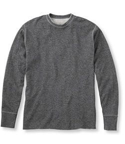Two-Layer River Driver's Shirt, Traditional Fit Crewneck