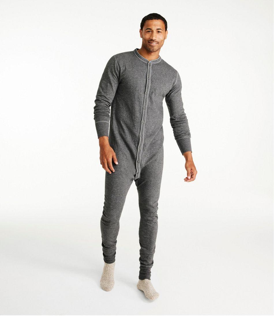 Men's Two-Layer Union Suit