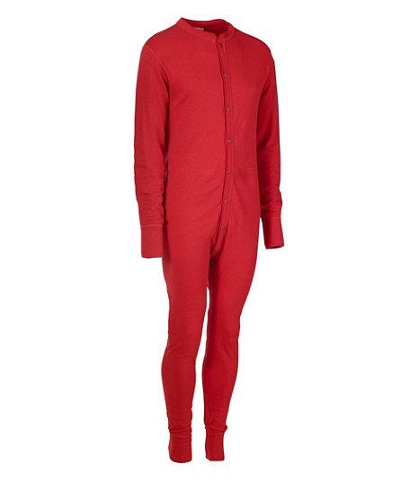 two-layer men's union suit from L.L. Bean