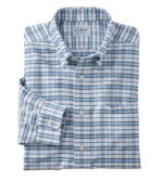 Men's Wrinkle-Free Classic Oxford Cloth Shirt, Traditional Fit, Tattersall