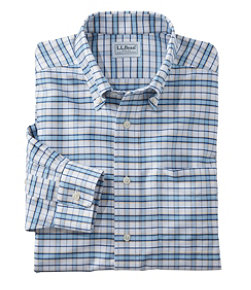 Men's Wrinkle-Free Classic Oxford Cloth Shirt, Traditional Fit Tattersall