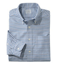 Wrinkle-Free Classic Oxford Cloth Shirt, Traditional Fit Tattersall