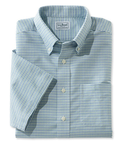 wrinkle free classic oxford cloth shirt traditional fit short