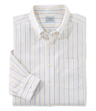 Wrinkle-Free Classic Oxford Cloth Shirt, Traditional Fit Stripe