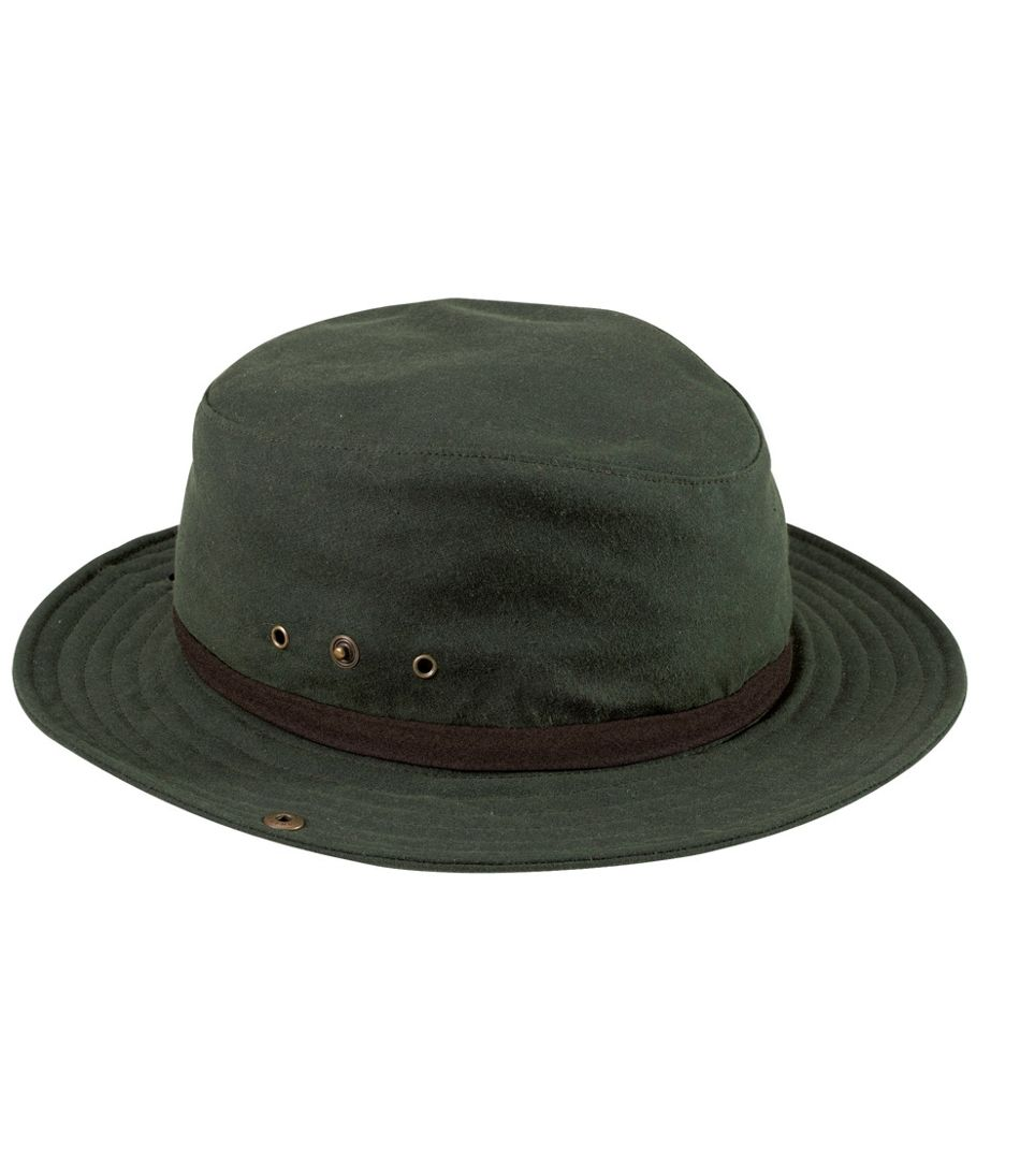 Men's and Women's Waxed-Cotton Packer Hat