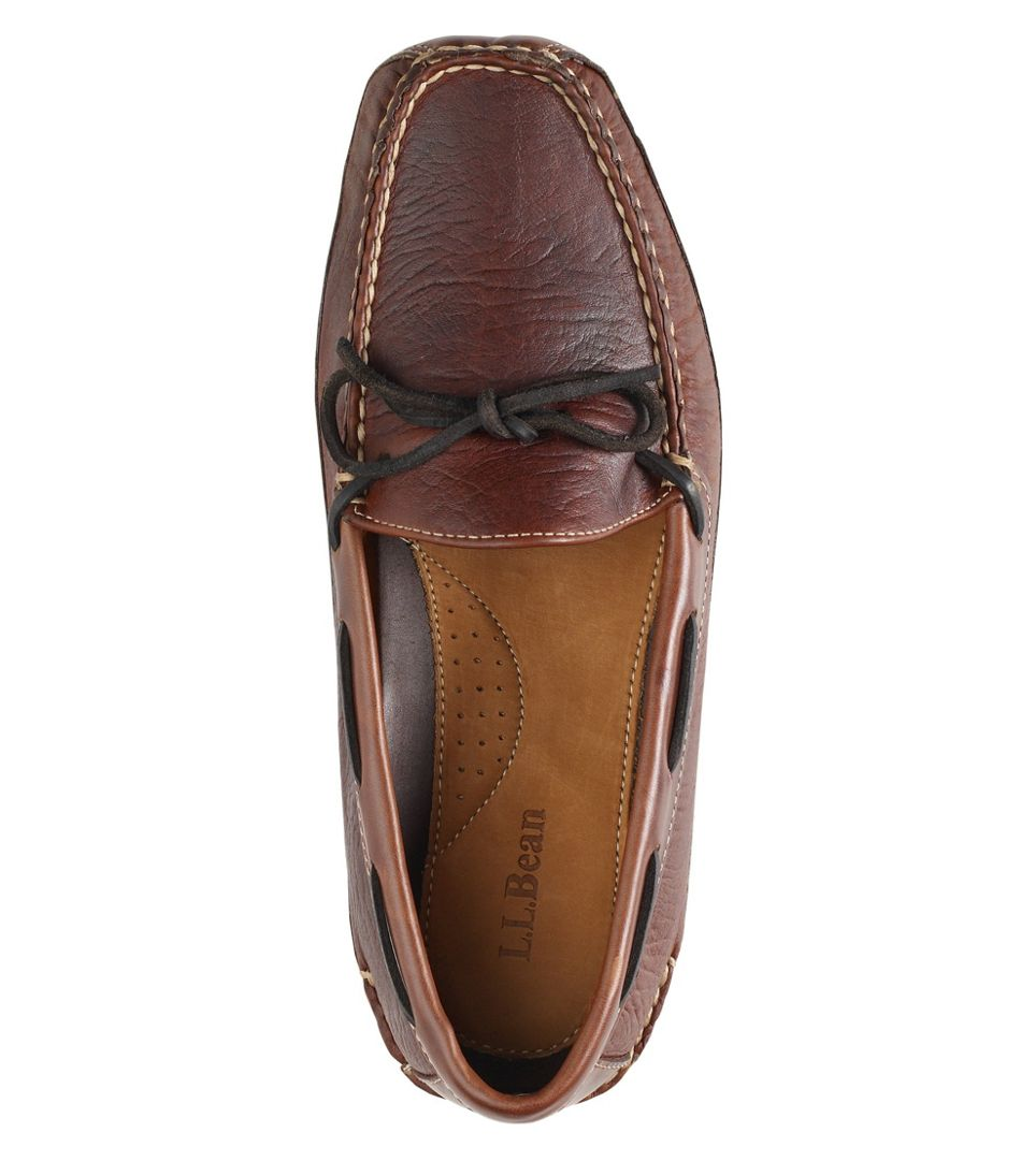Men's Bison Double-Sole Slippers, Leather-Lined