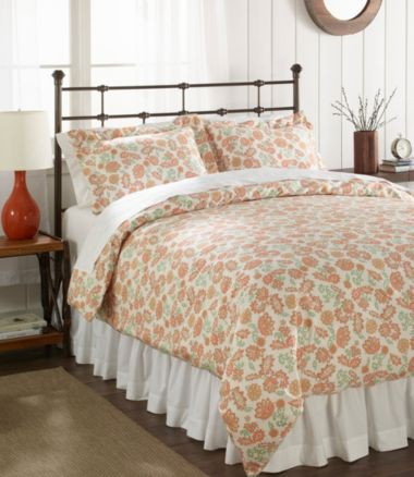 Sateen 340-Thread-Count Comforter Cover Collection, Floral