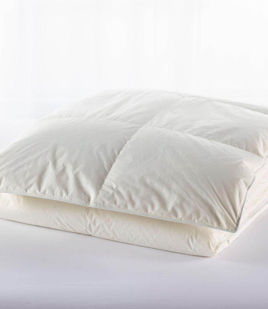 Baffle Box Stitch Goose Down Comforter Warm