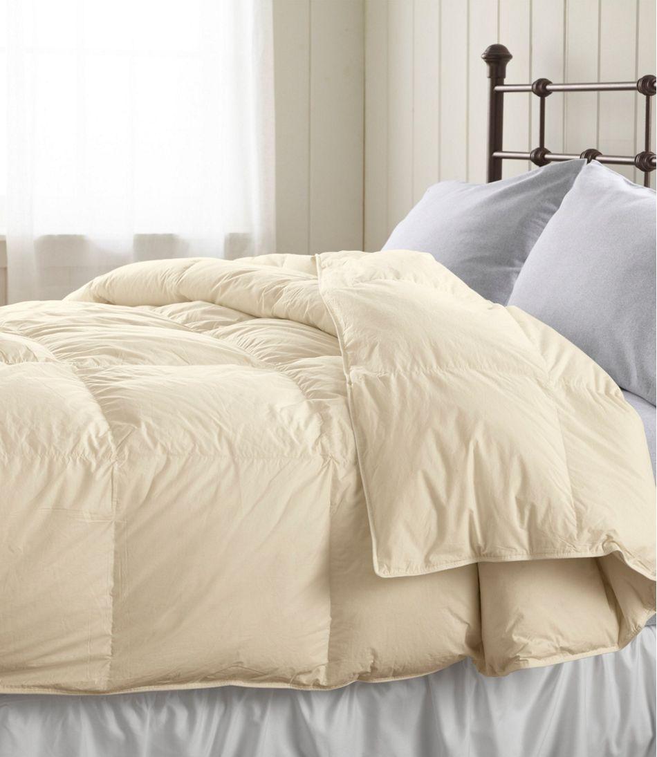 Baffle-Box Stitch Goose Down Comforter, Warm