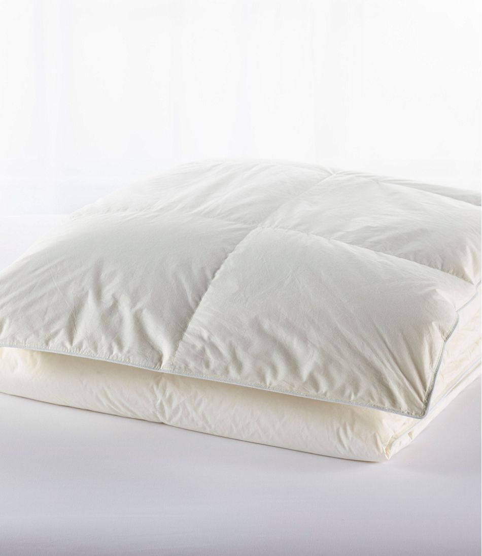 Baffle-Box Stitch Goose Down Comforter, Warmer
