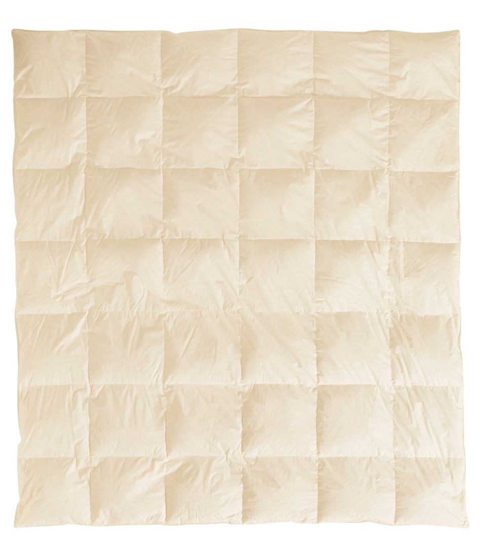 Baffle-Box Stitch Goose Down Comforter, Warmer