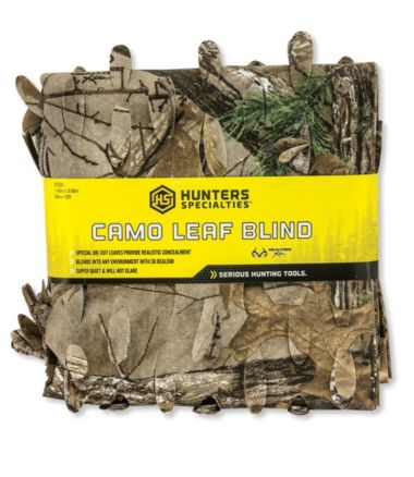 Camo-Leaf Blind Material