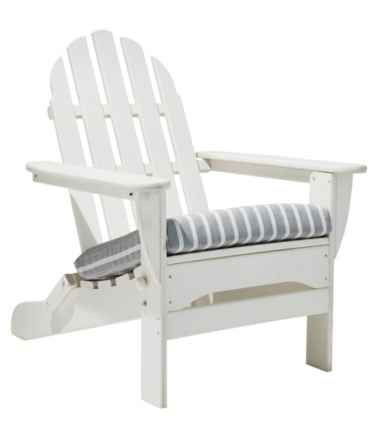 Casco Bay Adirondack Chair Seat Cushion, Stripe