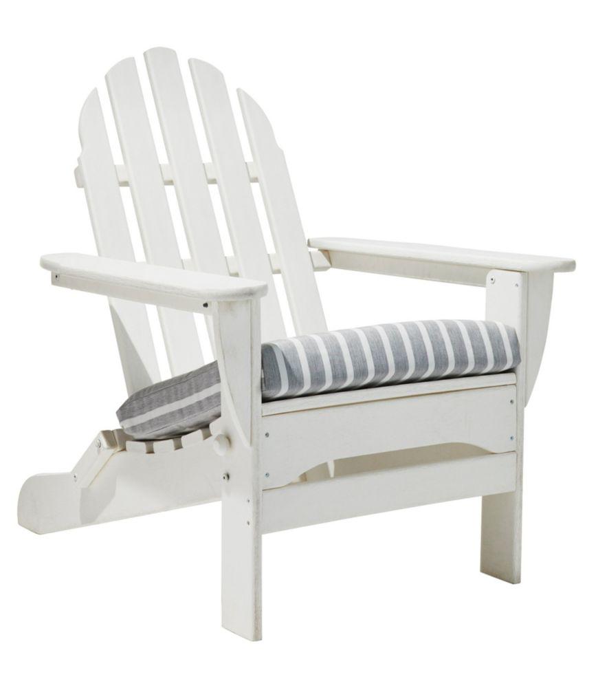 Casco Bay Adirondack Chair Seat Cushion Stripe