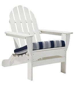 Casco Bay Adirondack Chair Seat Cushion, Stripe