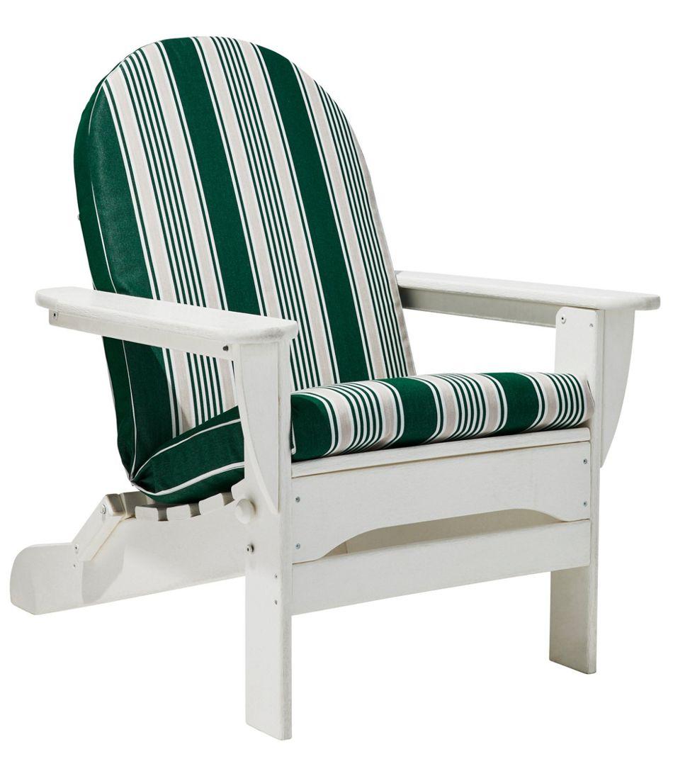 Casco Bay Adirondack Chair Seat And Back Cushion Stripe