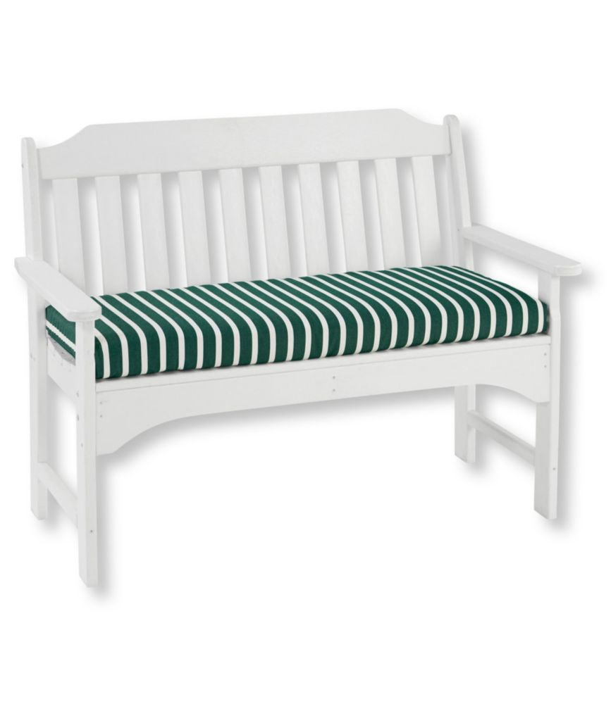 Casco Bay All Weather Bench Cushion, Stripe