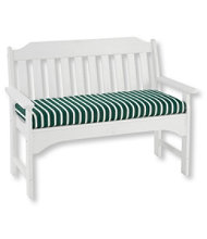 Casco Bay All-Weather Bench Cushion, Stripe