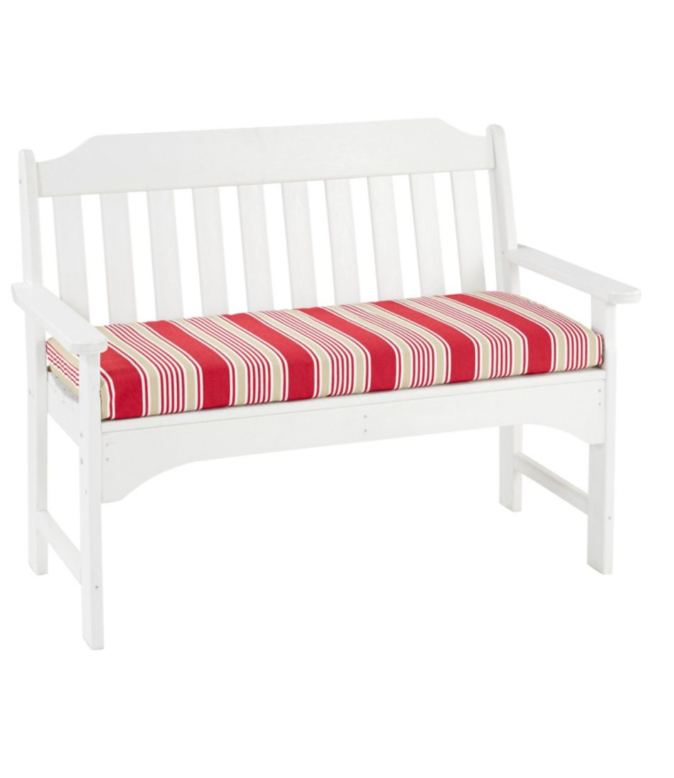 Casco Bay All-Weather Bench Cushion, Stripe