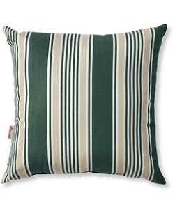 Casco Bay Throw Pillow, Stripe