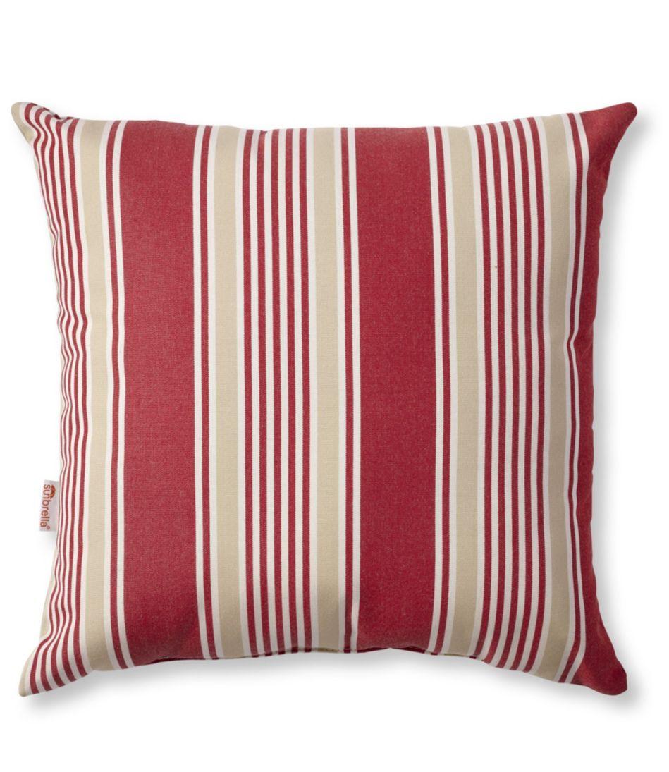Casco Bay Throw Pillow, Stripe