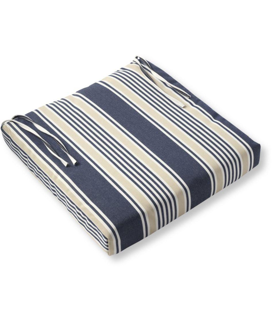 Casco Bay Universal Chair Cushions, Stripe