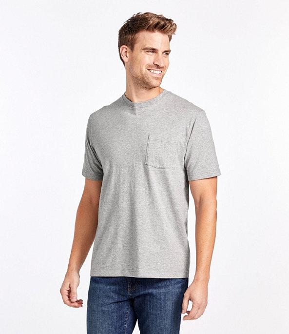 Men's Carefree Unshrinkable Shirt with Pocket, , large image number 1