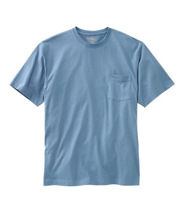 Men's Carefree Unshrinkable Shirt with Pocket, Delta Blue, large image number 0
