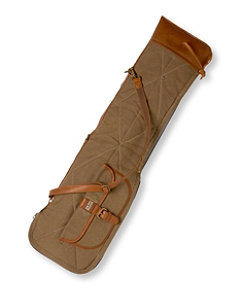 Maine Guide Waxed-Canvas Takedown Shotgun Case