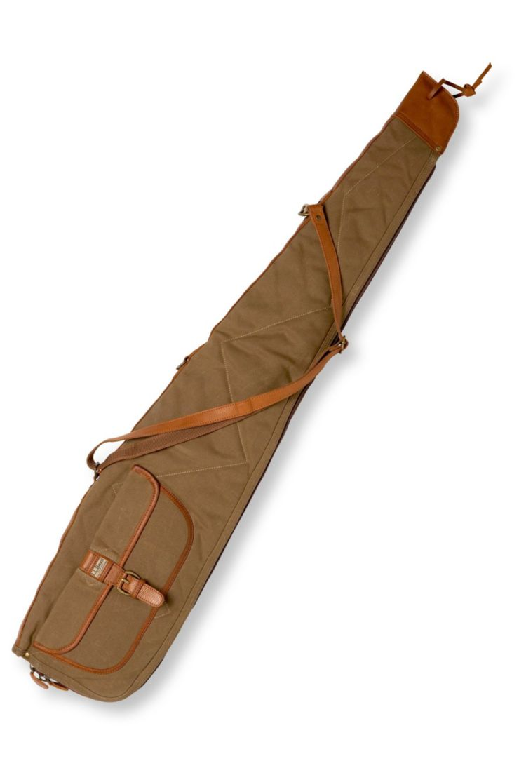 Maine Guide Waxed-Canvas Scoped Rifle Case