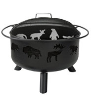 Wildlife Fire Pit and Grill