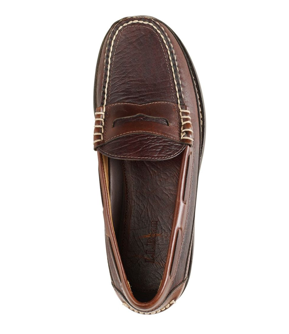 Men's Allagash Bison Handsewns, Penny Loafers