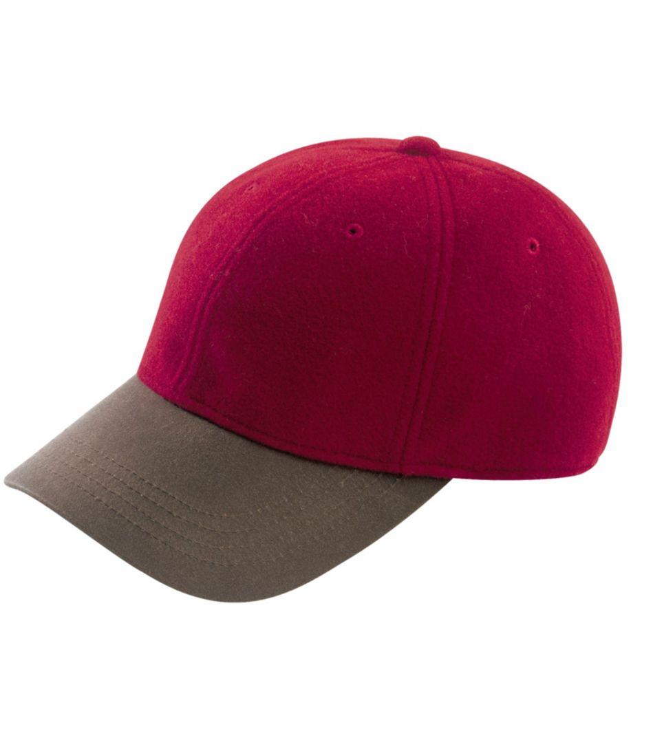 Wool-Blend Ball Cap