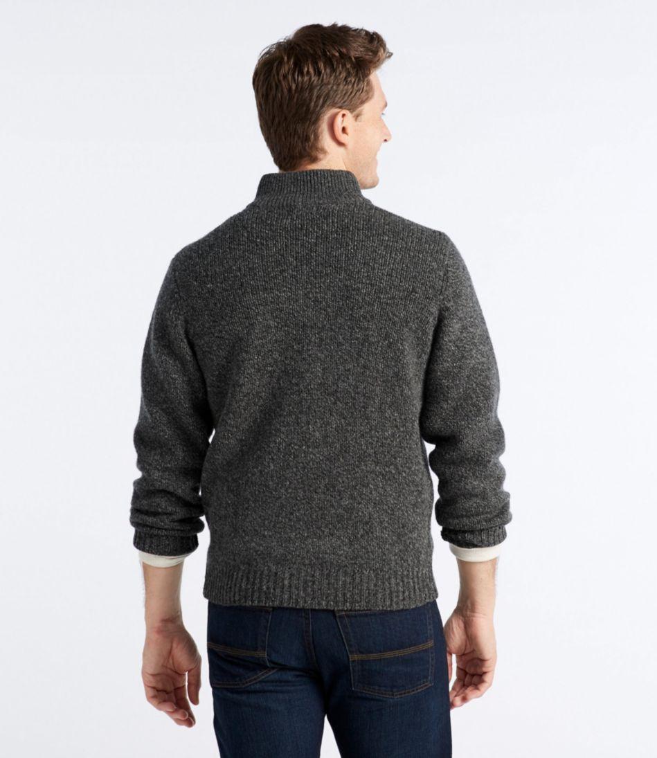 L.L.Bean Classic Ragg Wool Sweater, Full-Zip