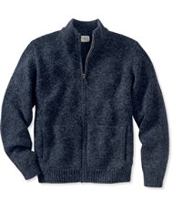 L.L.Bean Classic Ragg Wool Sweater, Full-Zip