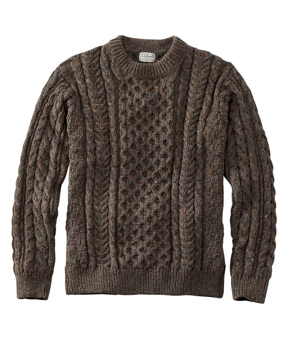 Heritage Sweater Irish Fishermans Crewneck