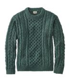 Heritage Sweater, Irish Fisherman's Crewneck