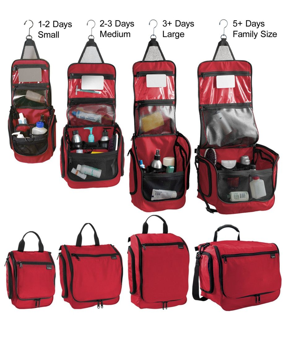 Personal Organizer Toiletry Bag, Small