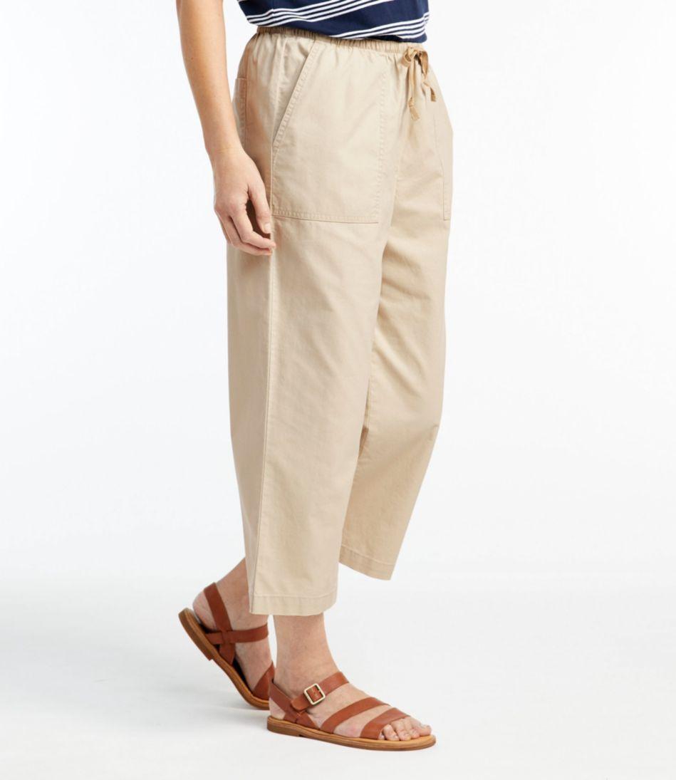 Original Sunwashed Canvas Pants, Cropped