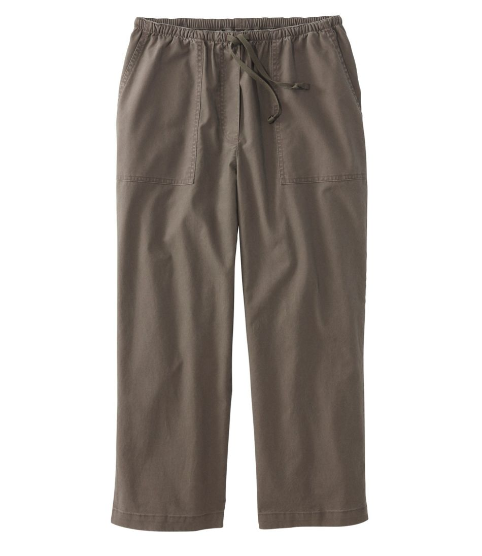 Original Sunwashed Canvas Pants, Cropped