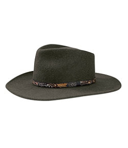 Stetson Expedition Crushable Wool Hat