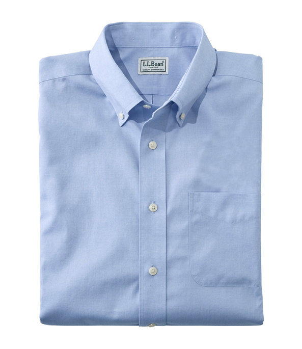 Wrinkle-Free Pinpoint Oxford Cloth Shirt, , large image number 0
