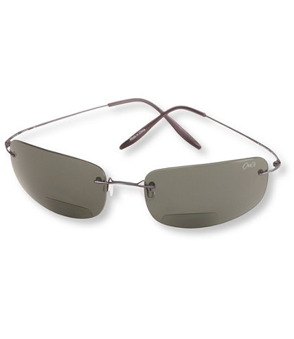 Rimless Bifocal Glasses : Polarized Rimless Bifocal Sunglasses Free Shipping at L ...