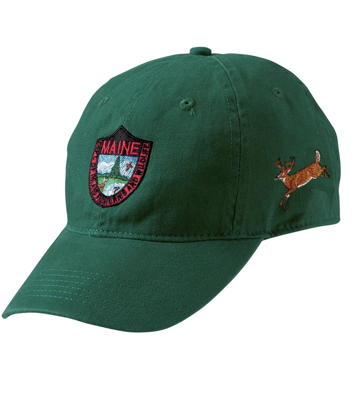 Adults' MIF&W Baseball Cap, Deer