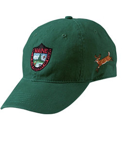 Maine Inland Fisheries and Wildlife Baseball Cap, Deer